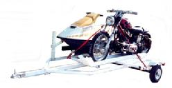 combo pwc motorcycle trailer