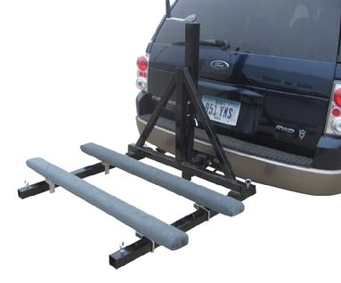 rHPWC2 stand up pwc trailer / receiver hitch carrier