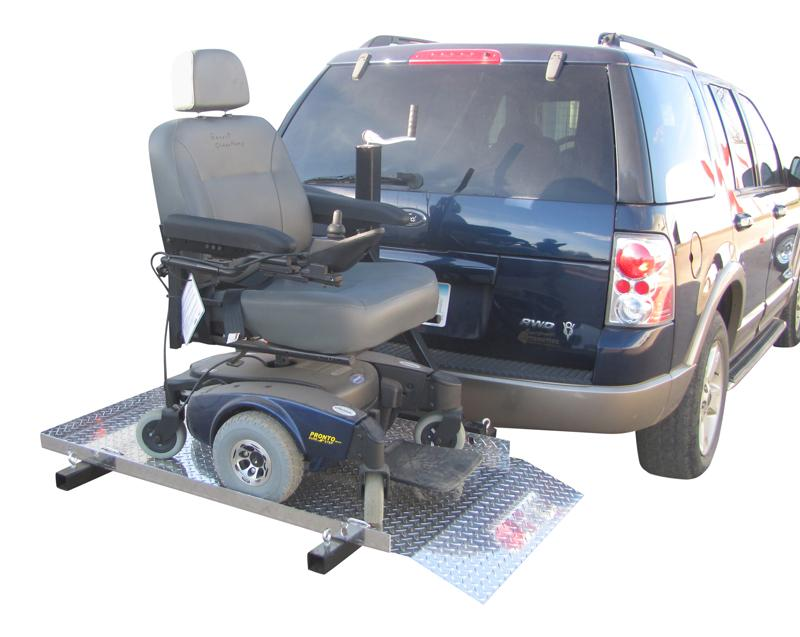 power chair hitch carrier